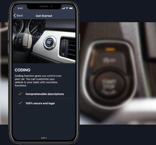 Disable the automatic Start-Stop with the porsche Coding App